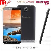Wholesale Lenovo S939 3G WCDMA Unlocked Smartphone 6.0 inch Andoid 4.2 IPS Touch screen phone