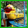 super interesante parque de atracciones de dibujos animados de tren gusano de diapositivas para la venta