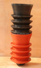 Hot Selling!!! Conventional and non-rotating top and bottom cementing plugs/cement plugs/casing rubber plug with API Standard