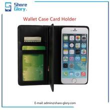 2015 Wholesale Men's Flip PU Leather Mobile Phone Case for Iphone 6 plus 02