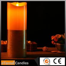 Multifunctional gel candle wax wholesale flameless led candle birthday party