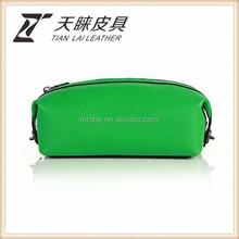 Economic Exported crocodile leather cosmetic bag wristlet