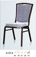 wholesale quality stacking metal venue chair LQ-A014
