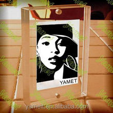 Standing Glass picture frame 60cm 90cm