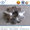 ASA140 28A-2 ANSI pitch 44.45 duplex stainless steel chain sprocket