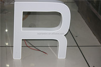 Outdoor different styles of led letters