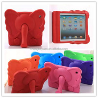 EVA Kids Foam Elephant Shock Proof Soft Stand phone case for ipad air 2 3 4 5