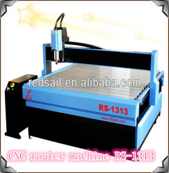 computer controlled wood carving machine / Redsail cutting machine with 2.2kw high power spindle