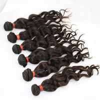 homeage salon first choice 5A grade virgin brazilian wavy hair 18inch