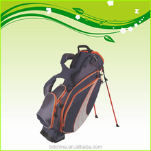 Lightweight stand waterproof golf bag with rain cover