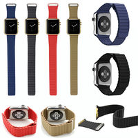 New Product Most Expensive Changeable Genuine Leather Band for Apple Watch, For Apple Watch Band