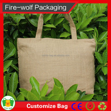 Factory Direct Wholesale Custom Plain Jute Tote Bag