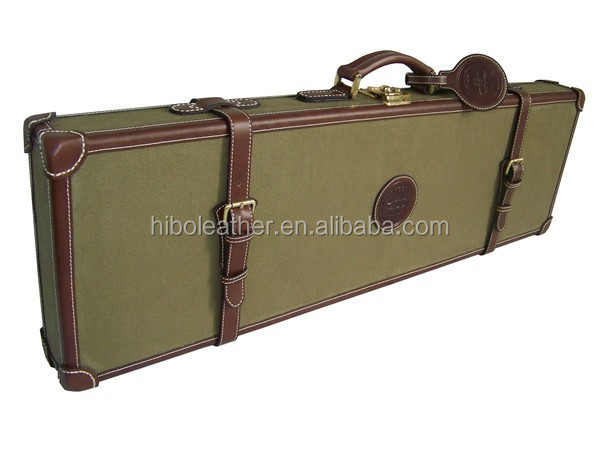 Leather canvas series universal gun case