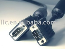 HIGH QULITY VGA TO VGA Cable WITH 2/FERRITES