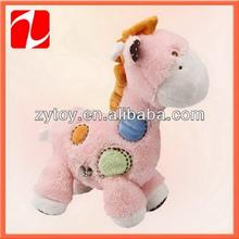 New design stuffed birthday gift for lover valentine toy plush giraffe
