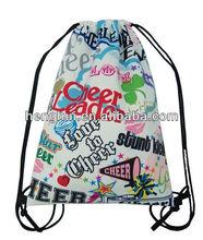Fashion drawstring athletic backpack