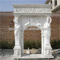 chimenea de mármol blanco baratos repisa de la chimenea