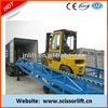6 tons truck portable loading ramps