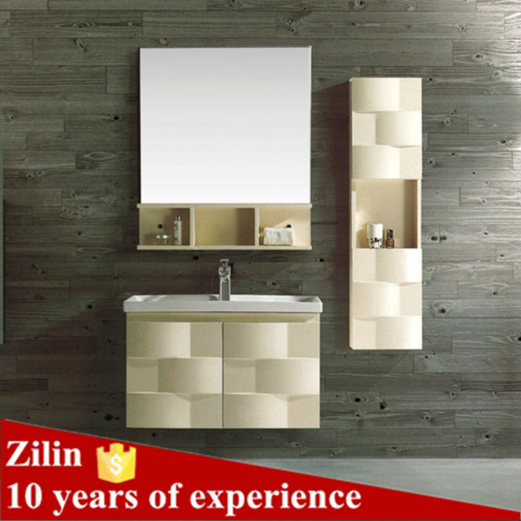 zilin stainless steel bathroom cabinet cheap bathroom vanity cabinet