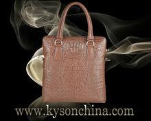 Bolso de mano de cuero, China, bolsos de cuero, marca famosa de bolsos de negocios para caballero