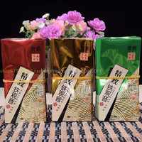 matte finished surface aluminium foil lined zipper bag for tea/dried food