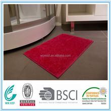 100%polyester waterproof rubber backed bathroom carpet tiles