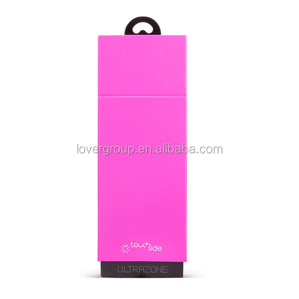 Pink Pretty Cute 100% Silicone Personal Massager 8 Speeds Wand Massage Vibrator