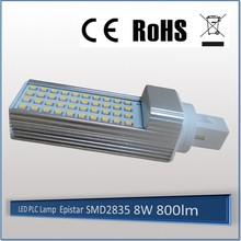 New design AC 85-265V g24 pl led light bulbs