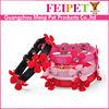 adorable flower pet collar high quality durable handmade small dog collar