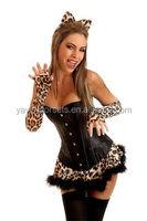 hot fashionable sexy women corset hot popular cat woman costume sexy