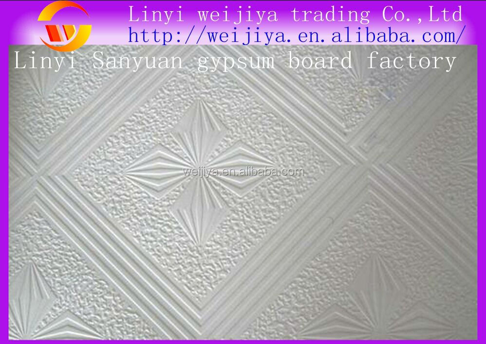 Types Of Gypsum Board : Different types of pvc gypsum ceiling board buy