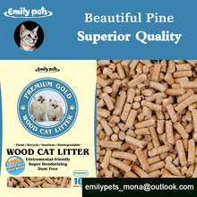 2015 Lovely Cat Products Organic Pine Wood Pet Sand Non Clumping