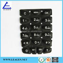 conductive numeric keypad for ele-communication automobile