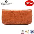 2014 caliente venta de moda carpeta de las mujeres populares billetera de cuero para las mujeres