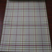 Newest custom made wide width woven yarn dyed cotton curtain in China