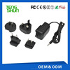 CE ROHS FCC Approved nterchangerable Plug 12v 1a DC Power Supply