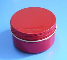 aluminum round tin container aluminum tin with lid