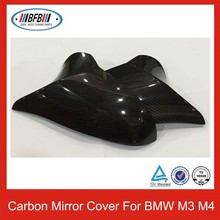 2014UP SIDE MIRROR COVER FOR BMW F80 M3 F82 M4 CARBON FIBER CAR DOOR MIRROR COVER STICK ON