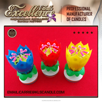 Musical Lotus Flower 8 Candles Romantic Party Gift Light for Birthday-0086 15633042031