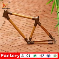 Special unqiue BAMBOO bicycle frame super light 700C Chinese carbon road bike frame