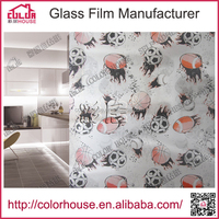 luxury container house pvc adhesive glass film for windows