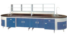 Science laboratory furniture metal frame laboratory bench laboratory experiment bench