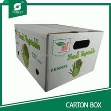 Standard RSC fruit carton box apples packaging box