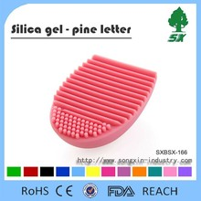 Professional and Promotional Silicone brush brush Egg, cleaning egg brush,cosmetic brush cleanser tools