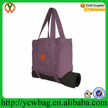 Fitness universe recycled custom durable yoga tote bag