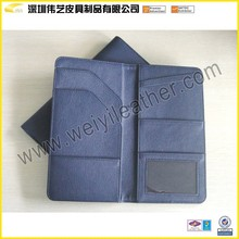 Personalized Good Quality PU Passport Wallet In Cheap Price Fake Leather Passport Cover