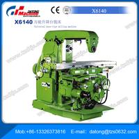 Sale Factory X6140 Universal Knee Type Milling Machine
