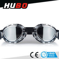 HUBO good quality clear lens motorcycle dirt road racing goggles