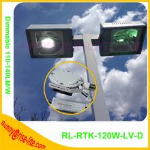 DLC UL shoebox street light 80w-320w led parking lot lighting bulbs