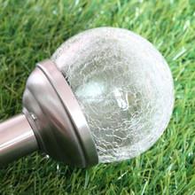 JTQ001 wholesale solar lights Color Changing Glass Garden Use Led Solar Lawn Lights